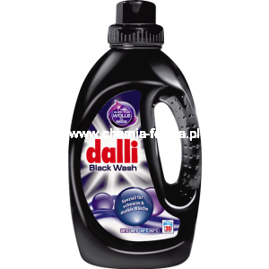 Dalli żel black Dalli-Werke do czarnego 20-40 prań 1,1 L