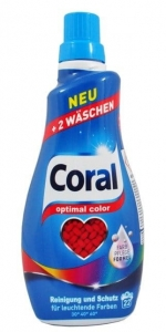 Coral optimal color żel do prania koloru 22-44 prań 1,1 L